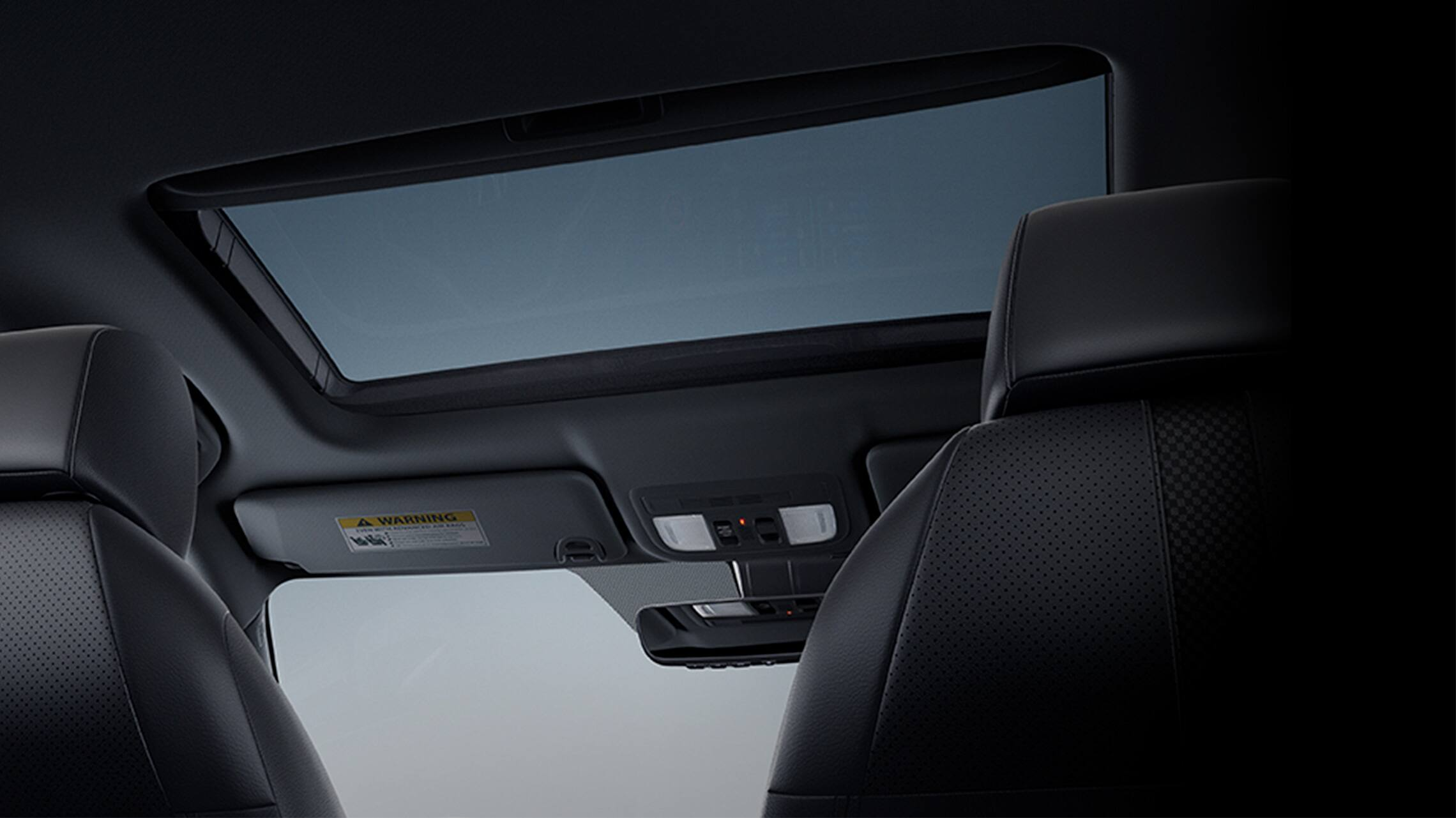 Power moonroof detail in 2020 Honda Civic Sport Touring Hatchback.
